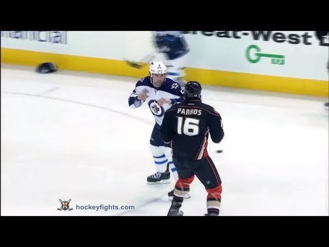 George Parros vs Mark Stuart