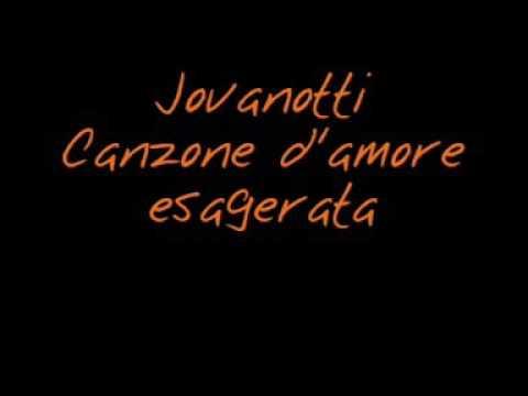 , title : 'Jovanotti   canzone d'amore esagerata 2002 + testo'
