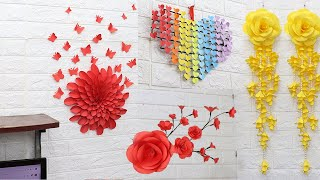 Paper Crafts For Home Decoration | Home Decorating Ideas Handmade