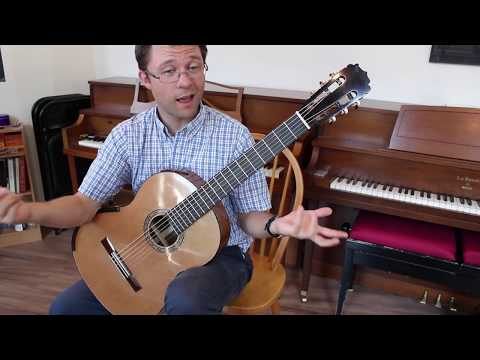 Lesson: Barre Exercise for Beginner/Intermediate Classical Guitar