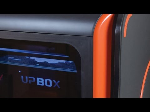 UP! Box 3D Printer Review – Big ABS Prints!