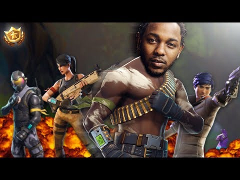 IF Kendrick Lamar Played Fortnite! (Voice Troll)
