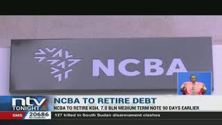 NCBA group has opted for early retirement of the seven billion