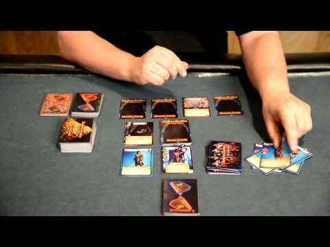 Dungeon Dwellers The Card Game - How to Play Video