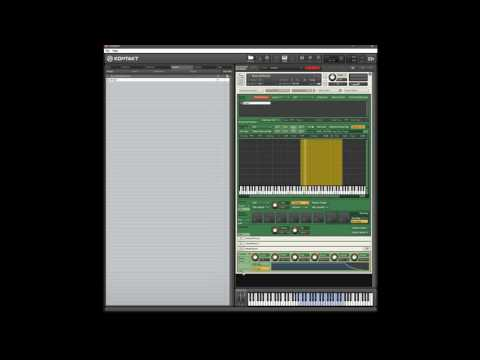 How to control attack envelope with velocity in Kontakt