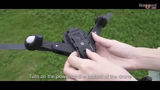 VISUO XS812 GPS 5G WiFi FPV w/ 2MP/5MP HD Camera 15mins Flight Time Fold-able RC Drone Quad-copter