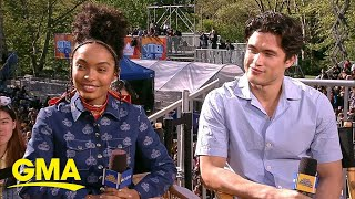 Yara Shahidi and Charles Melton open up about 'The Sun is Also a Star'   GMA
