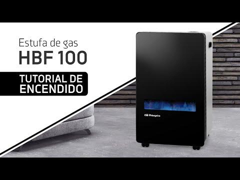 Orbegozo HBF 100 Estufa de Llama Azul  3800 W