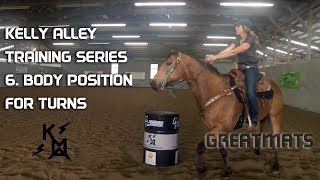 How To Position Your Body For Barrel Racing Turns - Horse Training Series