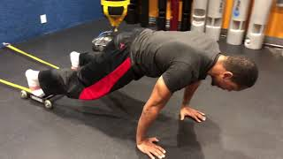 GHR Glute Ham Roller Exercise Band Crunch