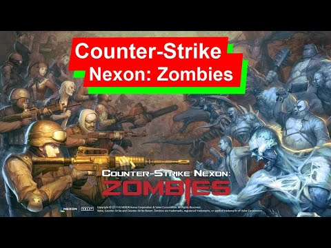 Counter-Strike Nexon: Zombies! Геймплей на выживание! [Full HD]