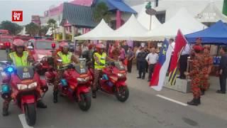 Hari Raya wishes from Melaka enforcement officers