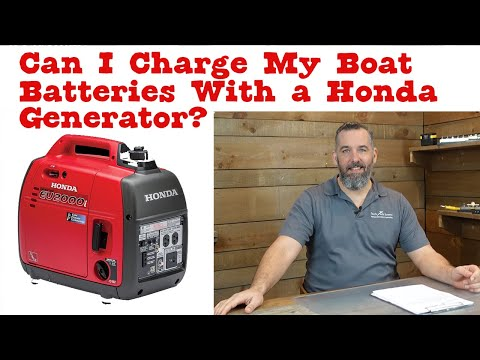Can I Charge My Boat Batteries With a Honda Generator?