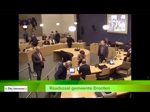 VIDEO | De laatste vergadering in de huidige raadszaal van Dronten: En wel hierom…
