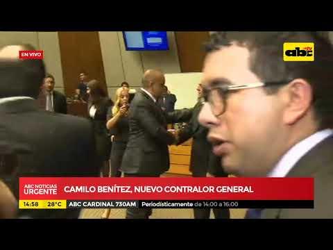 Camilo Benítez, nuevo contralor general