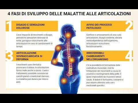 Trattamento della schiena e dei muscoli