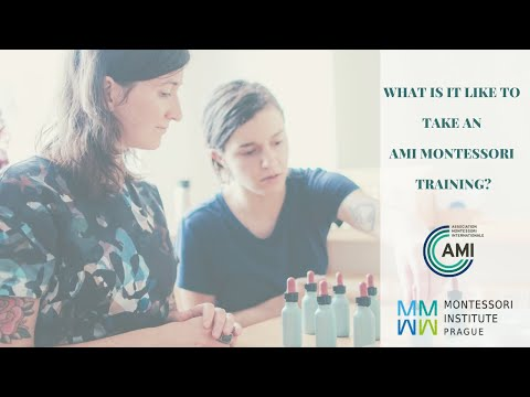 What is it like to take an AMI Montessori training?