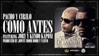Video Como Antes (Audio) de Pacho y Cirilo feat. Jory Boy y Kendo Kaponi