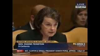 Sen. Dianne Feinstein asks why the US doesn