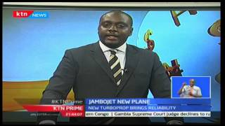 KTN Prime: Jambojet acquires a next generation aircraft bombardier dash 8q400