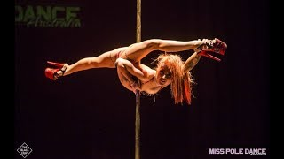 YouTube video E-card Amy Hazels winning routine of Moulin Rouge Lady Marmalade at Miss Pole Dance Australia 2018