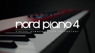 Nord Piano 4 - Piano de scène 88 notes toucher lourd - Video