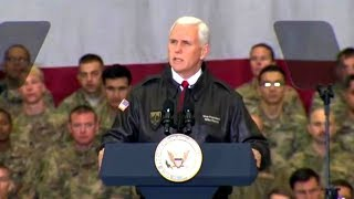 Vice President Mike Pence visit to Afghanistan Dec 21, 2017.