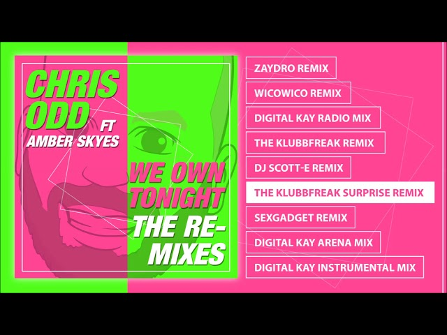 Chris Odd feat. Amber Skyes - We Own Tonight (The Remixes) Album Pre-listen [Official]