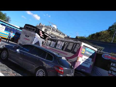 Автоперевозчики в центре Киева требуют возобновления междугородних пассажирских перевозок (видео)