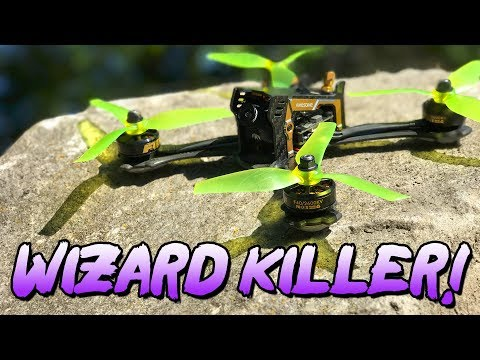 WIZARD KILLER – ASUAV F200 200mm FPV Racing Drone – Flight Review