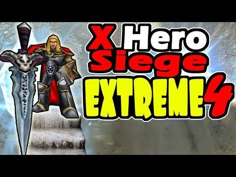 Warcraft 3 - X Hero Siege - wtiiwarcraft - Video