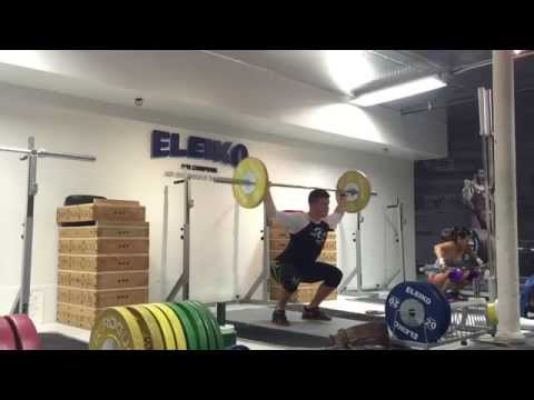Snatch Press in Squat | J2FIT Olympic Weightlifting