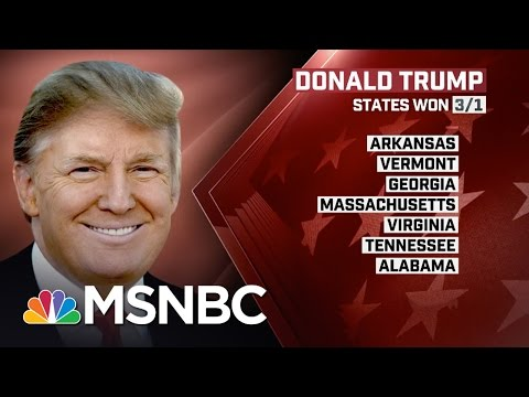Inside Donald Trump's Super Tuesday 'Hostile Takeover' | Morning Joe | MSNBC