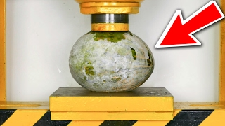 DEEP FROZEN WATERMELON  VS  HYDRAULIC PRESS = EPIC!!