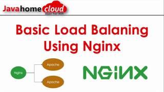 Nginx Setting Up Load Balancer   Load Balancer Tutorial   Nginx Tutorial