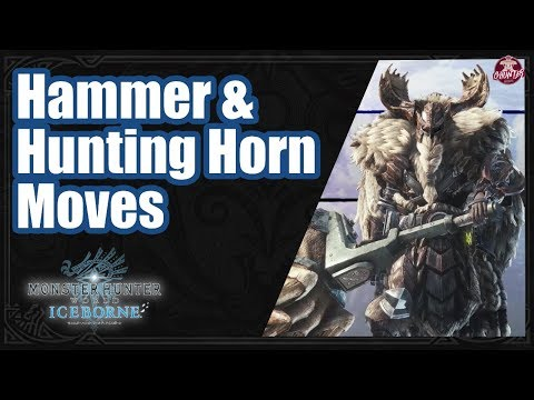 Monster Hunter World Iceborne: Hammer and HH Moves