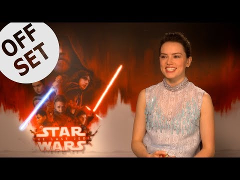 Daisy Ridley: I used to speak to BB8 like it was a baby!
