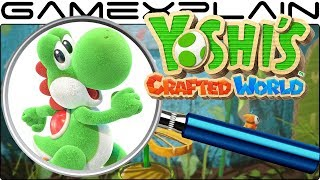 Yoshi's Crafted World ANALYSIS - Nintendo Direct Gameplay Trailer (Secrets & Hidden Details) - dooclip.me