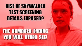 Rise of Skywalker Leaks Test Screening Details | The Latest Rumors!