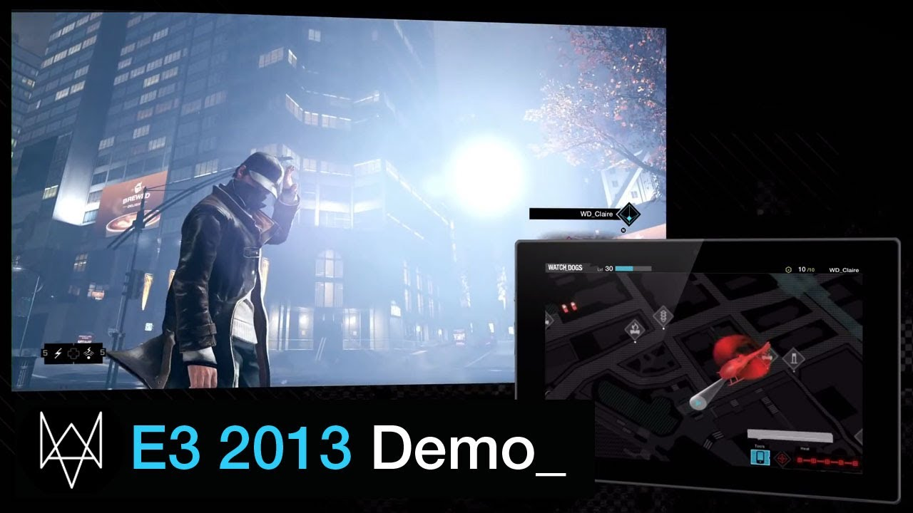 Watch_Dogs E3 Walkthough Demo