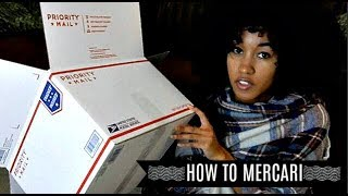 MERCARI | HOW TO PACKAGE AND SHIP