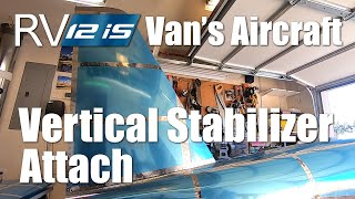 RV Aircraft Video - RV-12iS - Vertical Stabilizer Attach