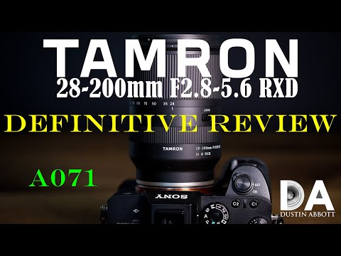 External Review Video BoqMuRg4sio for Tamron 28-200mm F/2.8-5.6 Di III RXD Lens (A071)