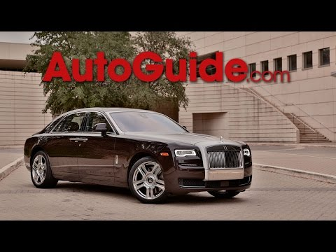 2015 Rolls Royce Ghost Series II - First Drive
