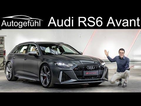 New Audi RS6 Avant REVIEW Exterior Interior - Autogefühl