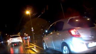 INNOVV K2 Footage on Rainy Night
