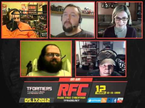 Radio Free Cybertron - Week of May 19th 2012