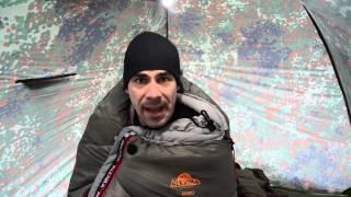 """Alexika Schlafsack """"NORD""""  wintertauglich!  [Review]    Outdoor AusrüstungTV"""
