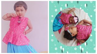 Sisters(siblings) Matching Dress Design Idea For Your Beautiful Kids