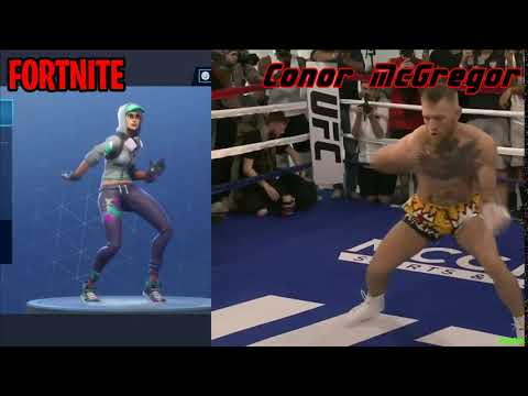 FORTNITE Boneless Emote In Real Life! (Conor McGregor)